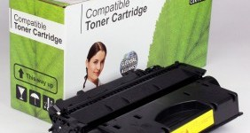 HP Compatible Black Toner CE505X High Yield