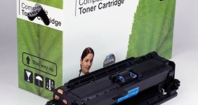 HP Compatible Cyan Toner CE251A