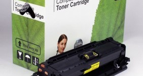 HP Compatible Yellow Toner CE252A