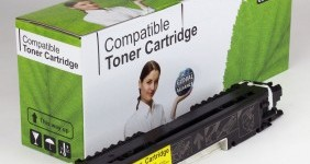 HP Compatible Yellow Toner CE312A