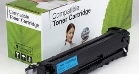 HP Compatible Cyan Toner CE321A