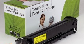 HP Compatible Yellow Toner CE322A