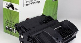 HP Compatible Black Toner CE390X High Yield