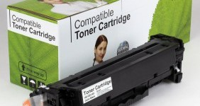 HP Compatible Black Toner CE410X High Yield