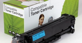 HP Compatible Cyan Toner CE411A