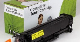HP Compatible Yellow Toner CE412A
