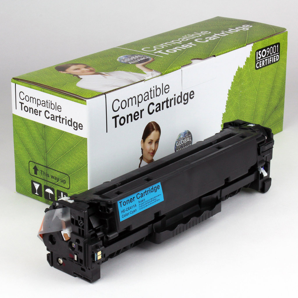 Dakota Ink And Toner 187 Hp Compatible Cyan Toner Ce411a